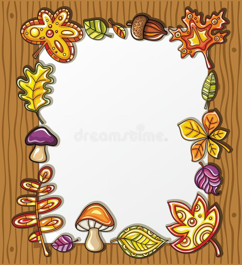 Free Autumnal Frame Series 2 Royalty Free Stock Images - 20666489