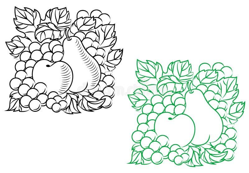 Download Autumnal harvest stock vector. Illustration of apple - 25522815