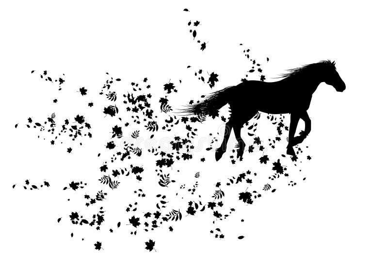 Autumnal Horse Stock Image