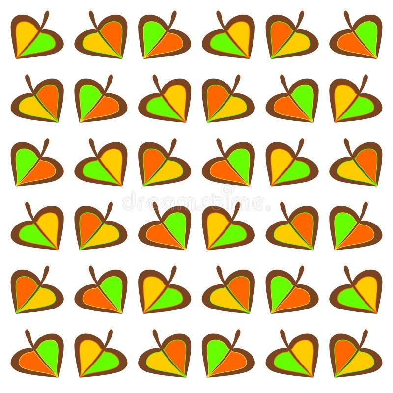 Download Autumnal leaves stock illustration. Illustration of brown - 24138757