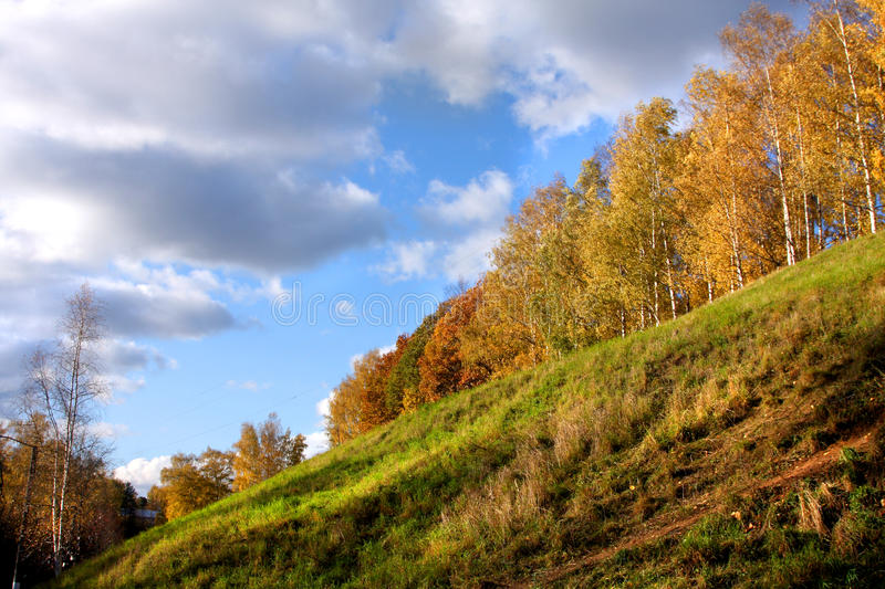 Autumnal scene stock images