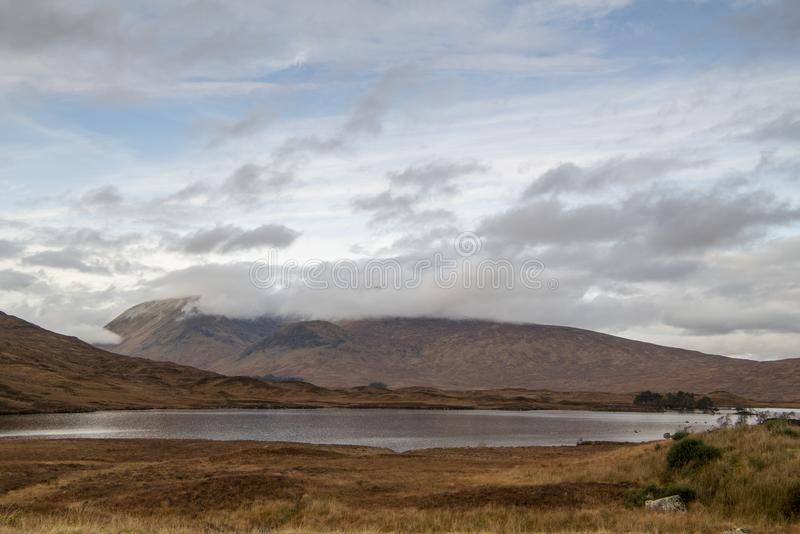 Lochan na h-Achlaise stock image