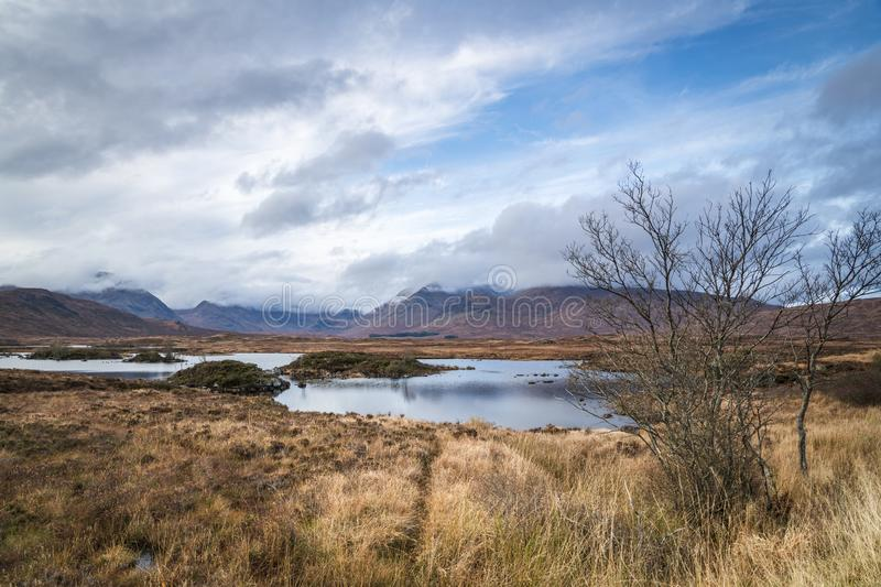 Rannoch Moor royalty free stock images