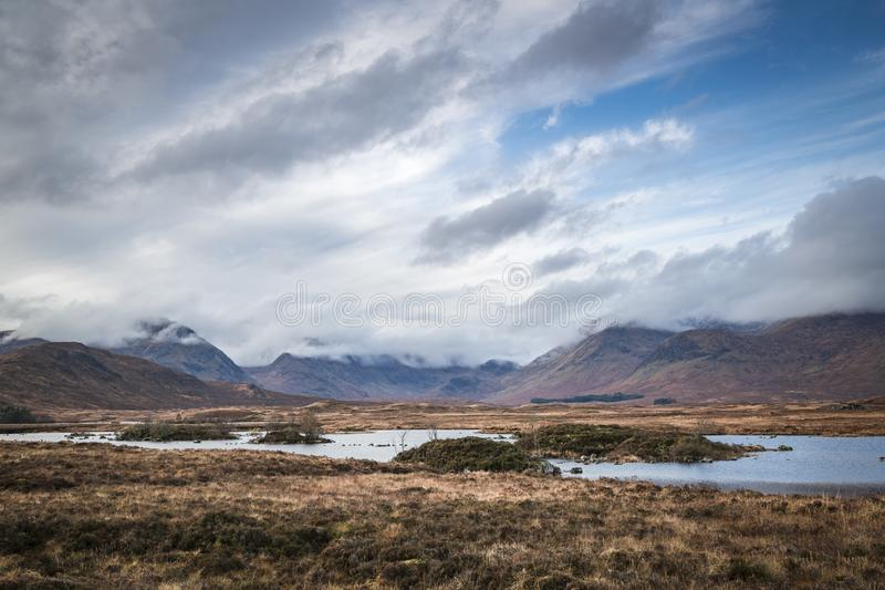 Rannoch Moor stock photos