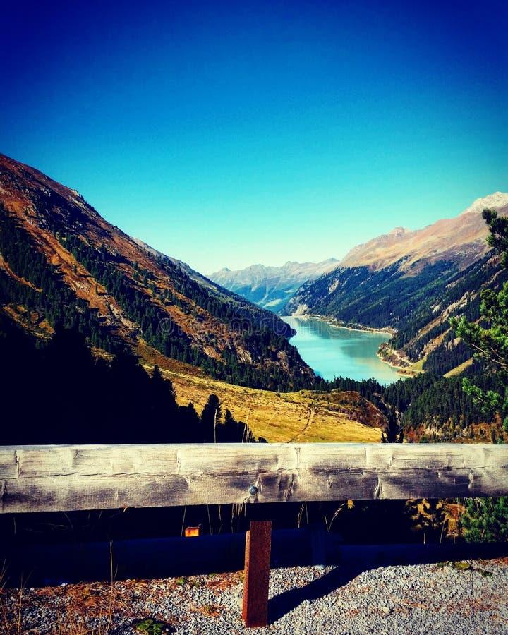 Autumnday in Tirol stockbilder