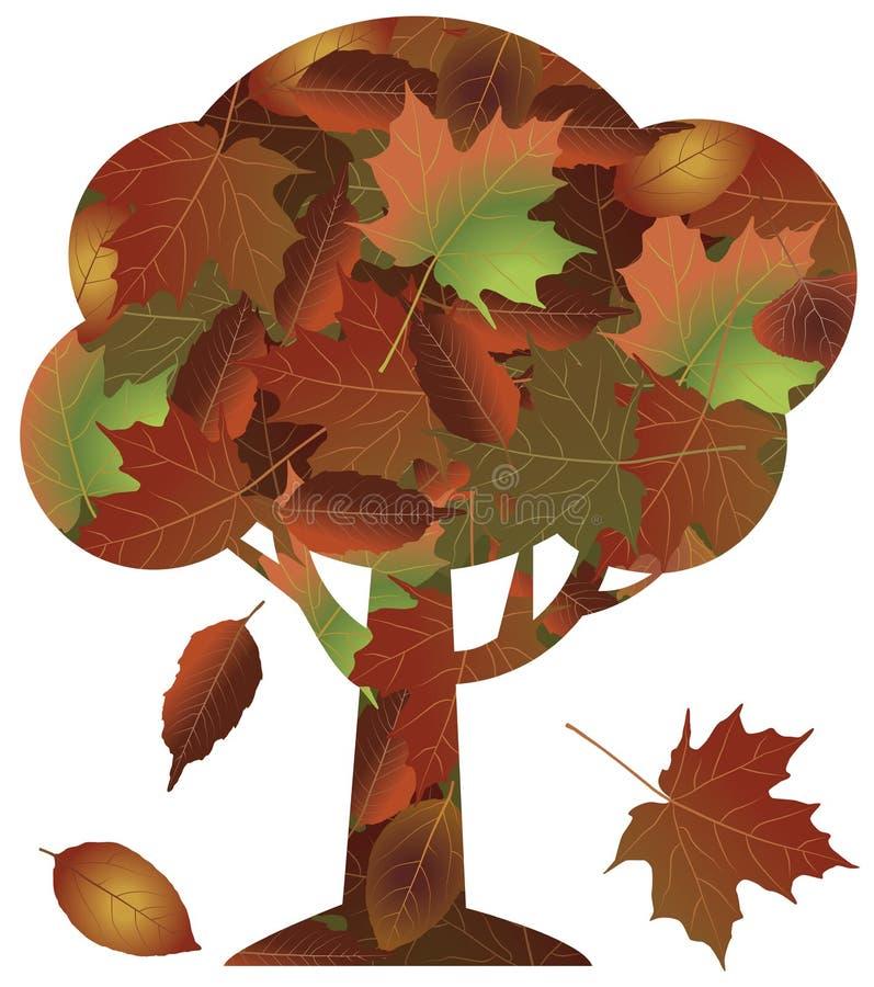 AutumnTree royalty-vrije stock fotografie