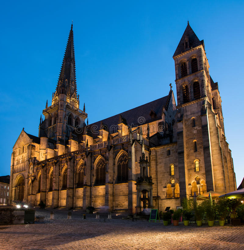 Free Autun Cathedral Royalty Free Stock Image - 68634606