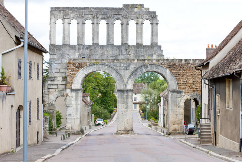 Download Autun, France stock photo. Image of gate, loire, historical - 22410540