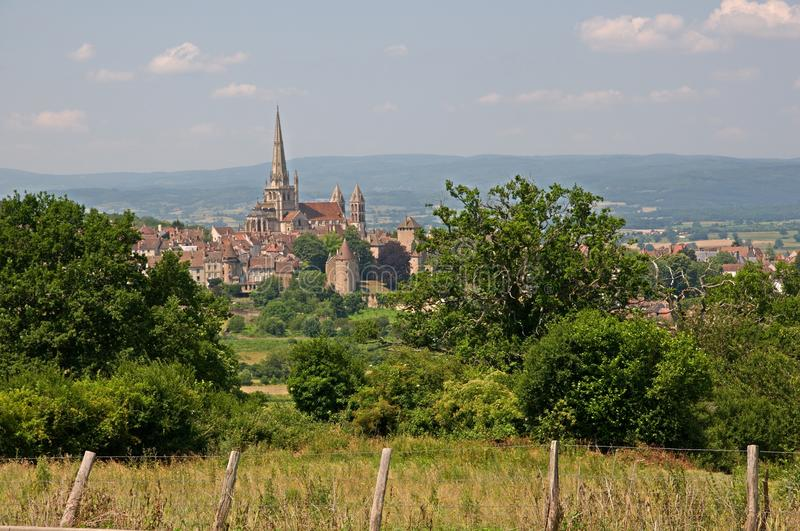 Autun, France photographie stock