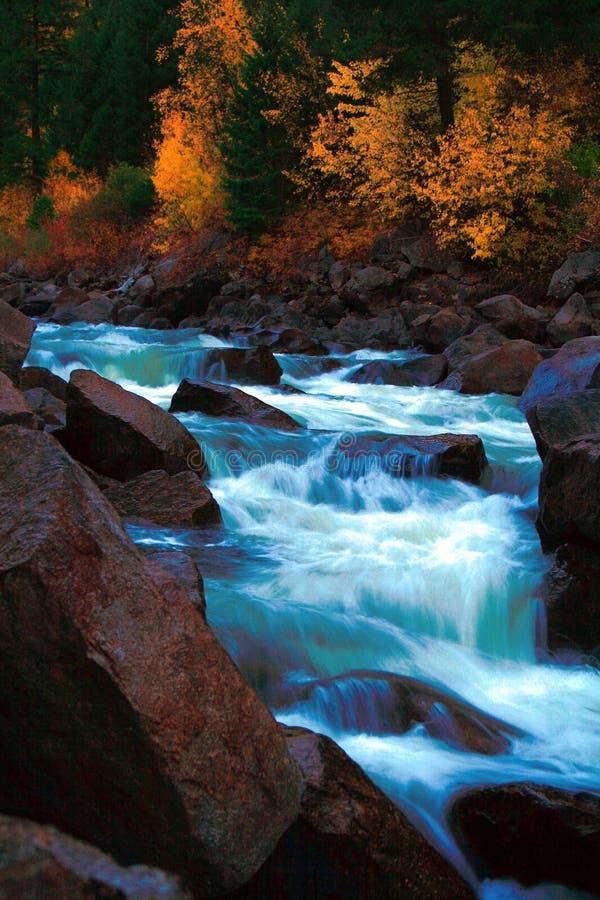 Autunno 4 del North Fork fotografia stock libera da diritti