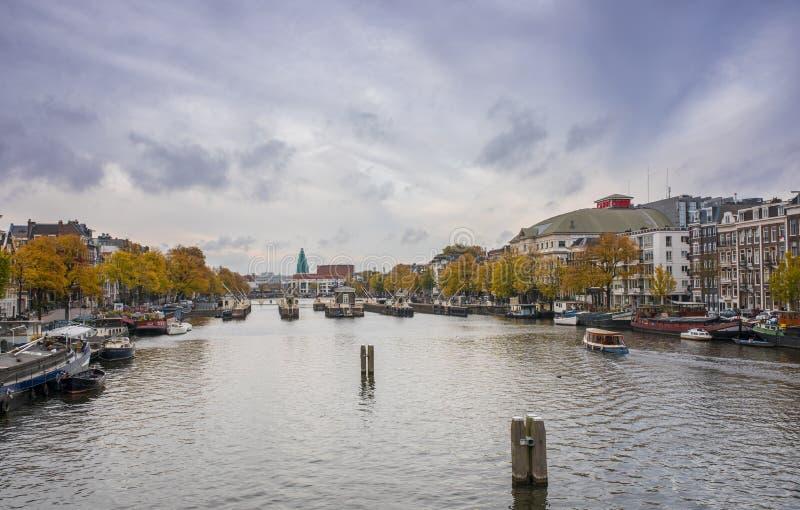 Autunno a Amsterdam immagini stock