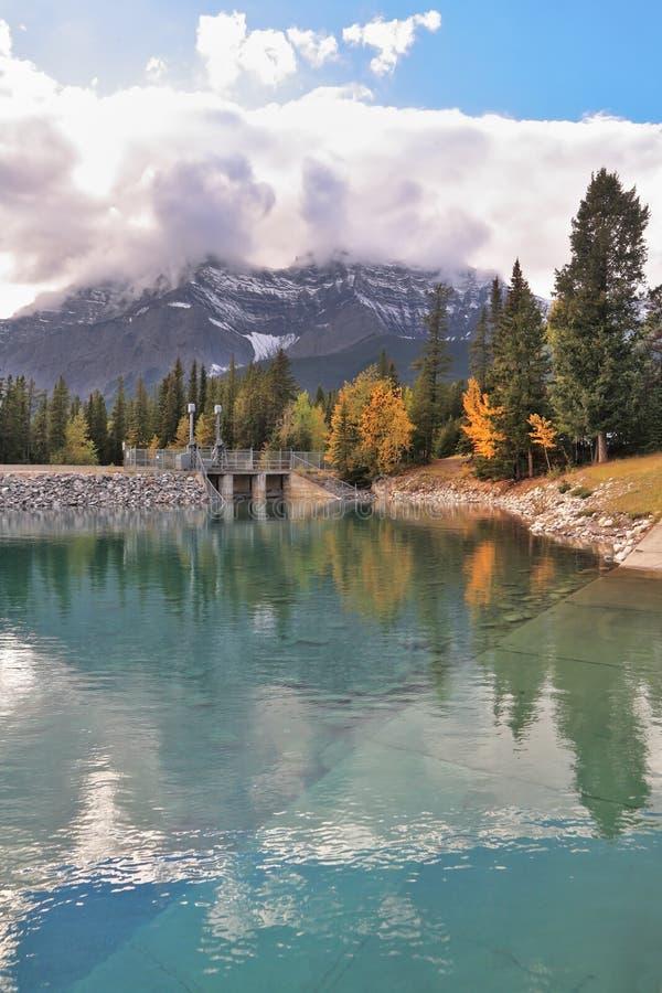 Autunno in anticipo nel Canada fotografie stock