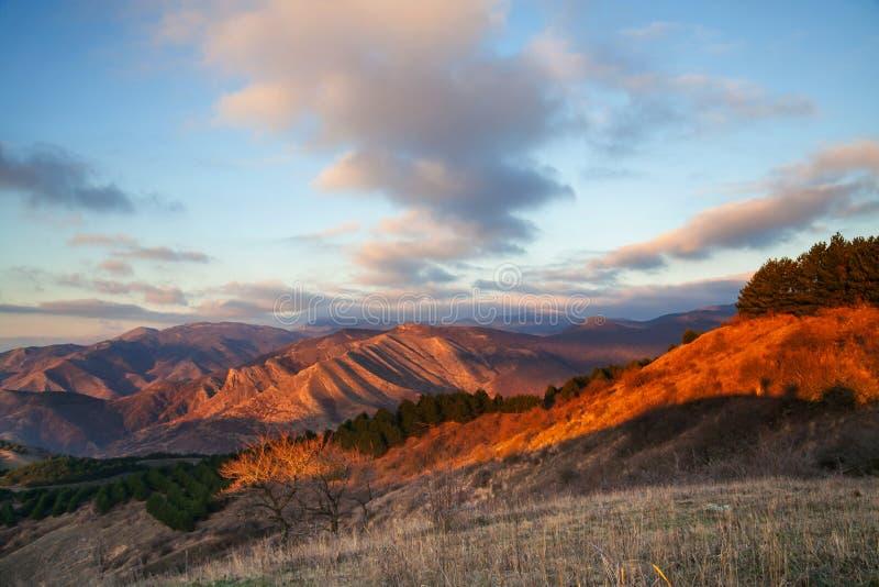 Autunno in Crimea fotografia stock libera da diritti