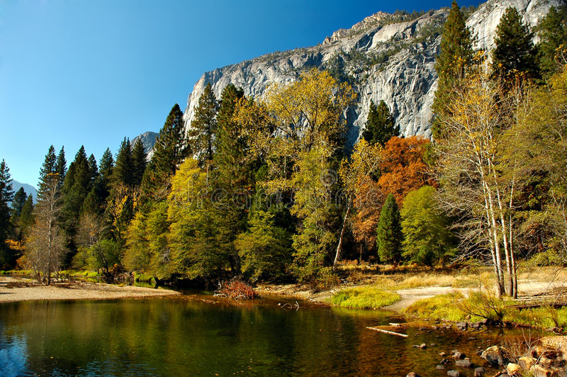Autunno del Yosemite fotografia stock