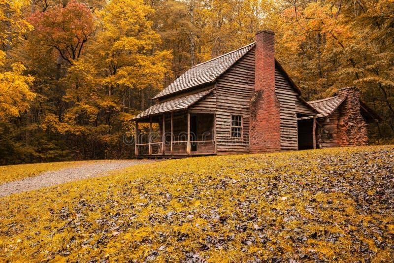Autunno a Henry Whitehead Cabin immagini stock