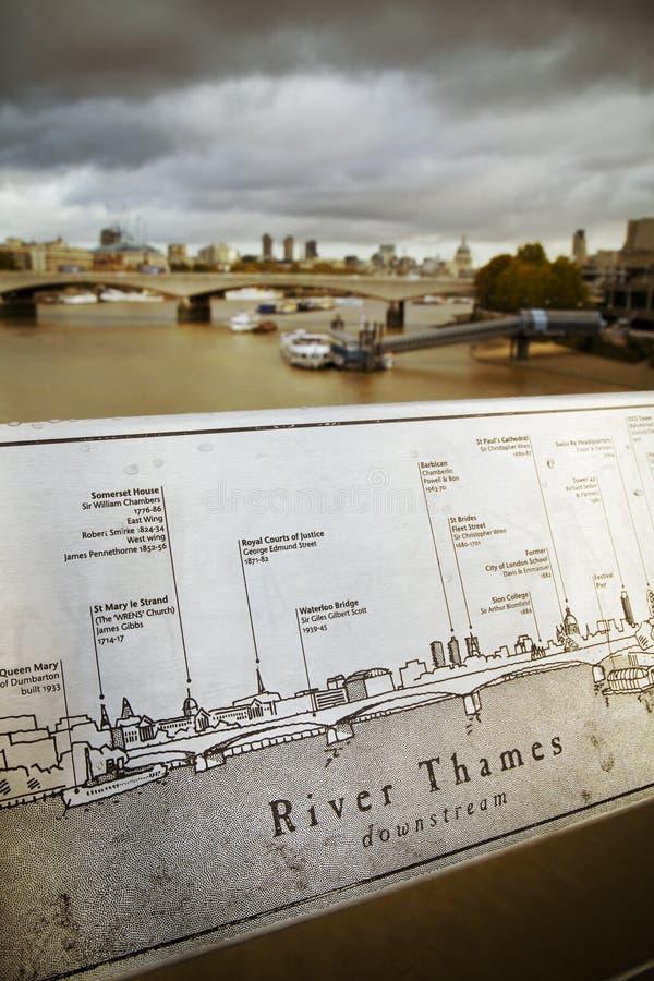 Autunno a Londra fotografie stock libere da diritti