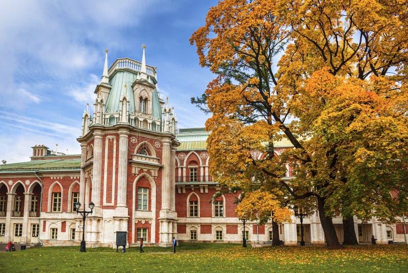 Autunno nella Museo-riserva & nel x22; Tsaritsyno& x22; , Mosca fotografia stock