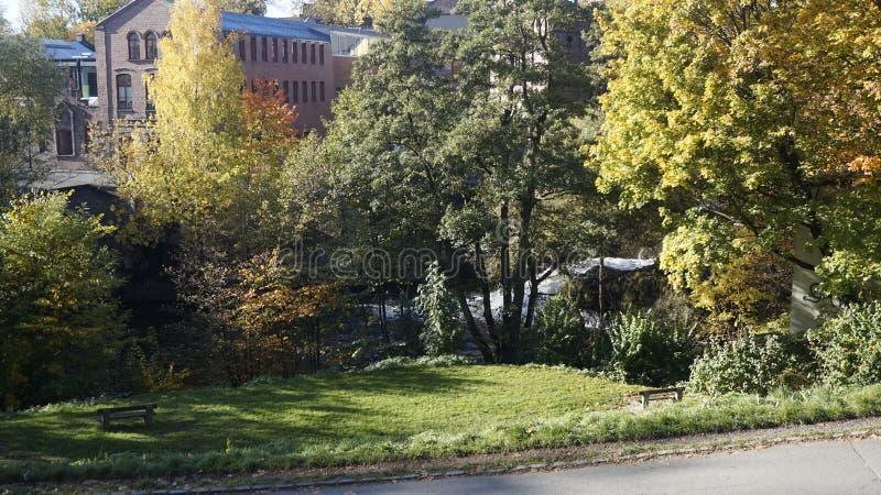Autunno a Oslo fotografie stock libere da diritti