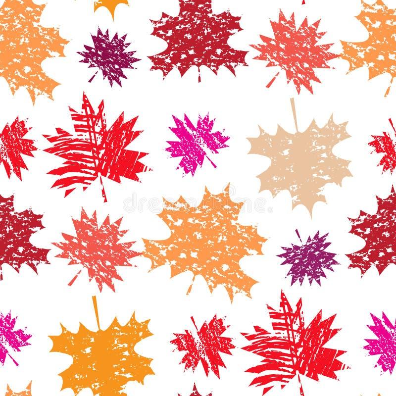 Autunno pattern4 royalty illustrazione gratis
