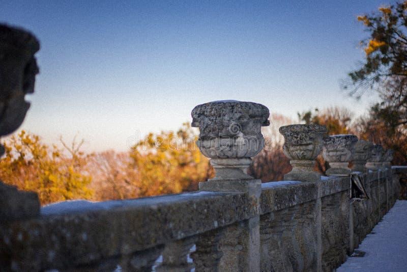 Autunno vicino a Leopoli fotografie stock libere da diritti