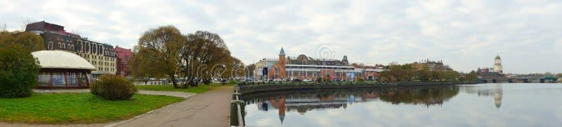 Autunno in Vyborg fotografia stock libera da diritti