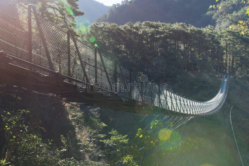Auwanta-Zugbrücke lizenzfreie stockfotos