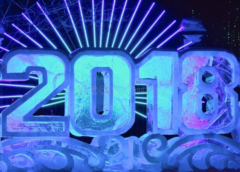 Download 2018 av is redaktionell bild. Bild av neon, datum, lighting - 106826931