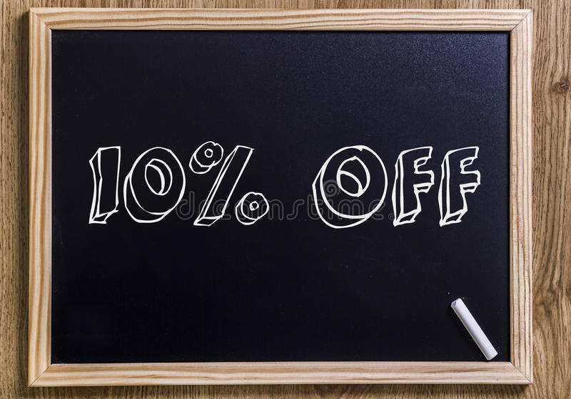 10% av royaltyfri foto