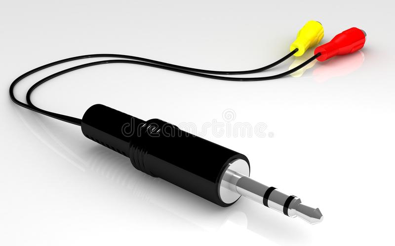 Download AV Cable stock illustration. Image of leads, wires, multi - 21835836