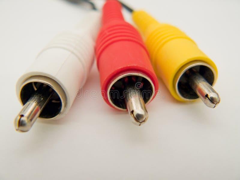 AV Cable stock images