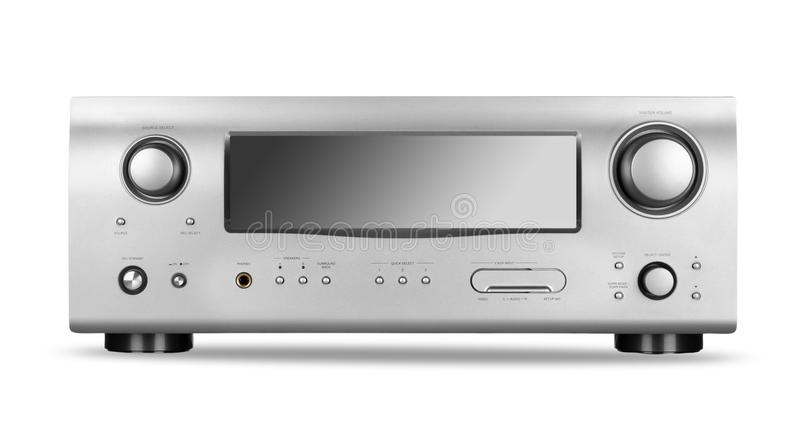 Download AV receiver stock photo. Image of electrical, stereo - 23787648