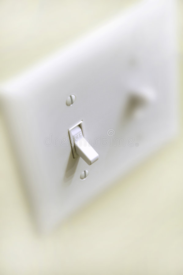 av strömbrytaren arkivfoton