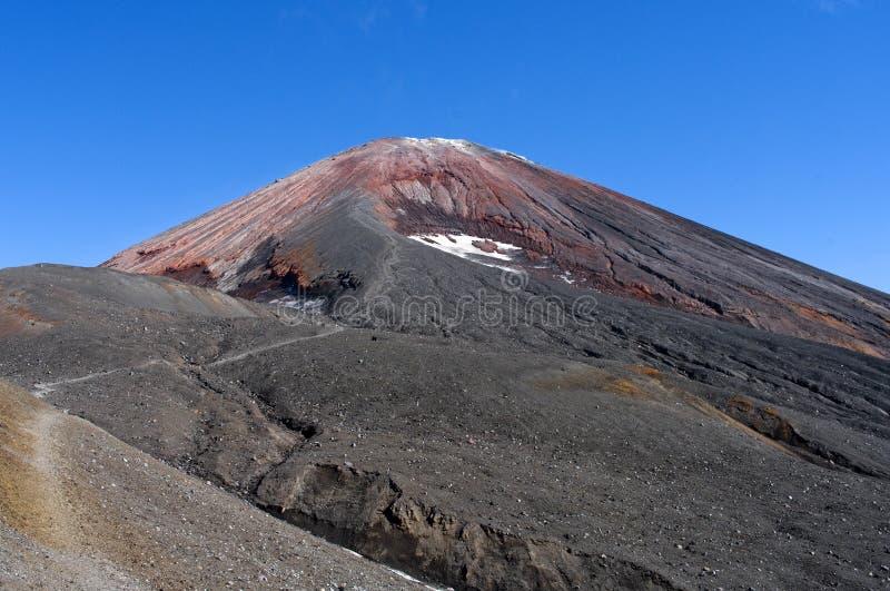 Avacha Volcano stock photo