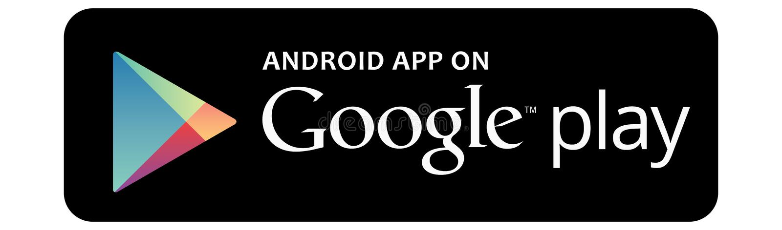 Available on the App Store Google Play Android. Google Play is a digital distribution service operated and developed by Google LLC. It serves as the official app stock illustration