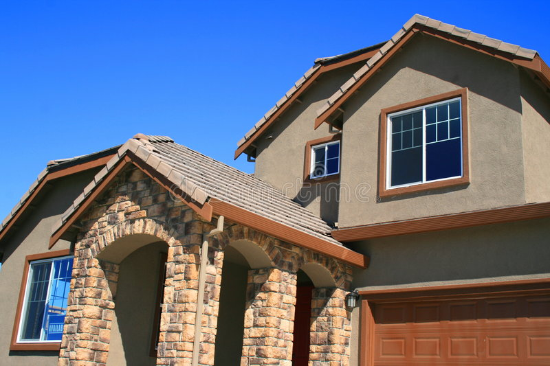 Download Available House stock photo. Image of contemporary, brick - 4806044