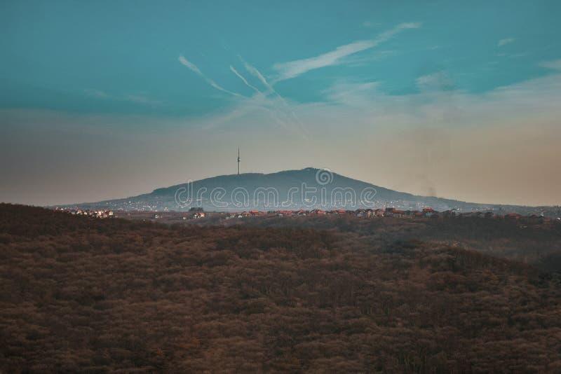 Avala Kontrollturm stockfotografie