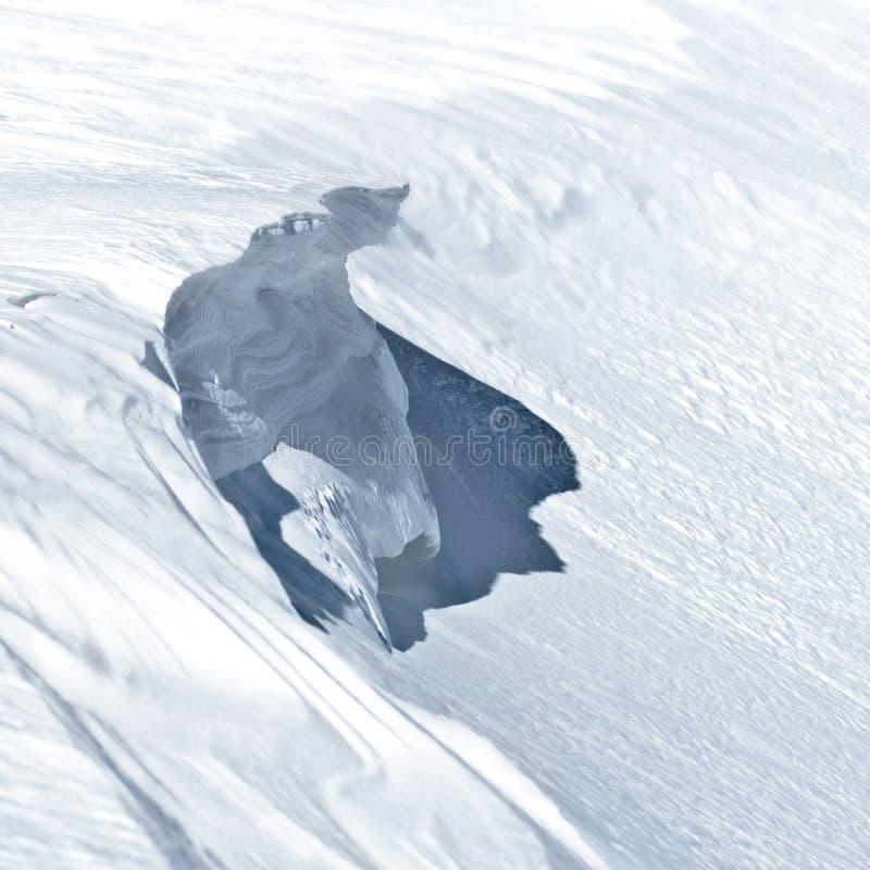 Avalancha causer imagen de archivo