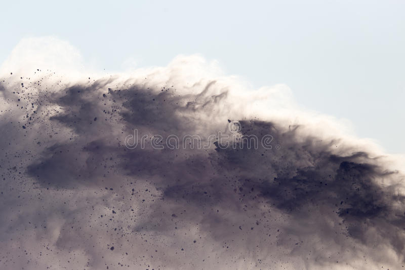 Avalanche as background. Background of snow avalanche in nature in winter royalty free stock images