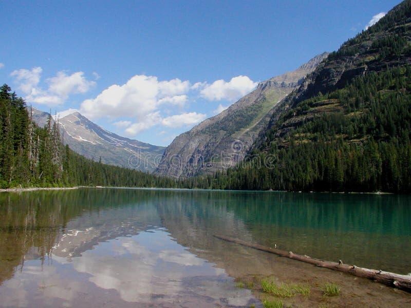 avalanche jeziora obraz royalty free