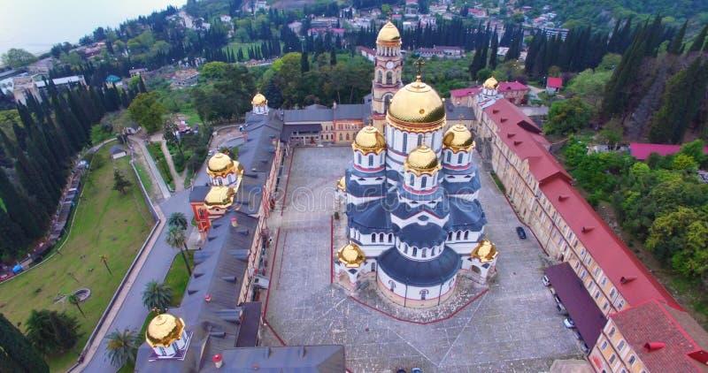 Avaliação aérea das vistas de Athos novo foto de stock royalty free