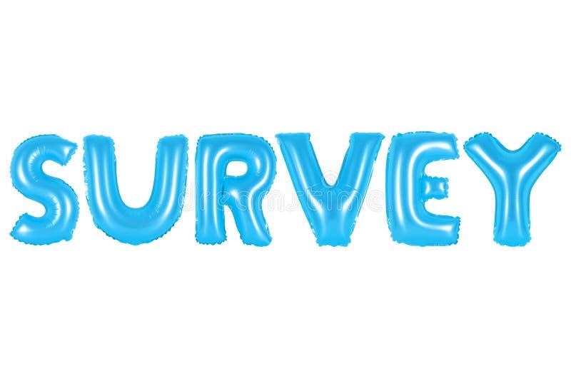Avaliação, cor azul imagem de stock royalty free