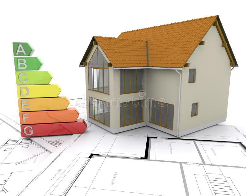 avaliações da energia 3D ilustração stock