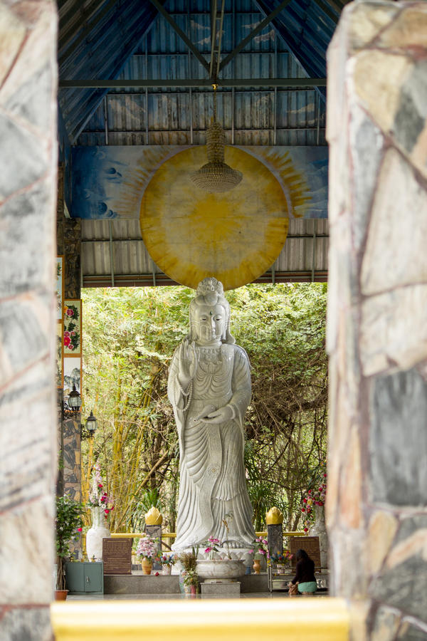 Avalokitesvara крытое стоковое фото rf