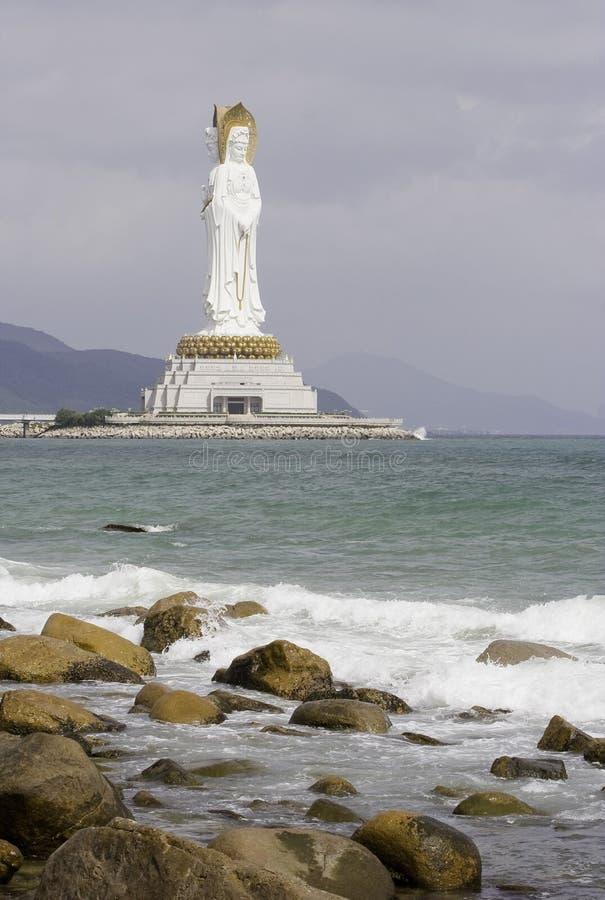 Avalokitesvara Três-enfrentado imagem de stock royalty free
