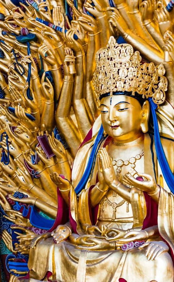 Avalokitesvara z Tysiąc rękami fotografia royalty free