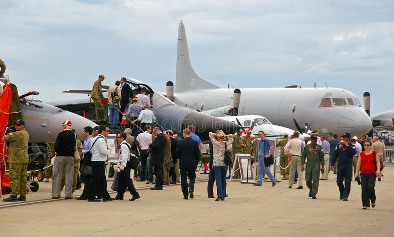 Avalon Airshow 2009 royalty-vrije stock foto