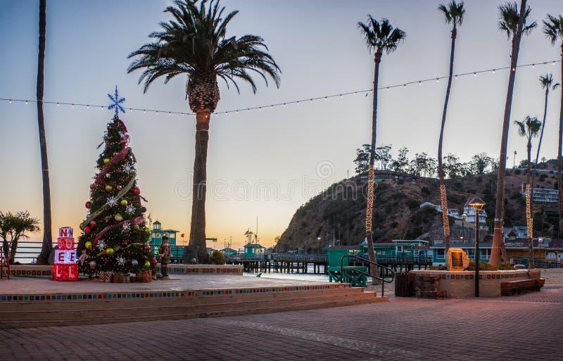 Catalina Island Avalon Pier Editorial Photography - Image of island