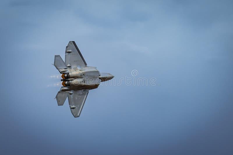 Avalon, Melbourne, Australië - breng 3, 2017 in de war: F-35 militaire vechtersstraal stock afbeelding