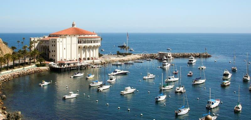 Avalon zatoki Catalina kasyno zdjęcia royalty free