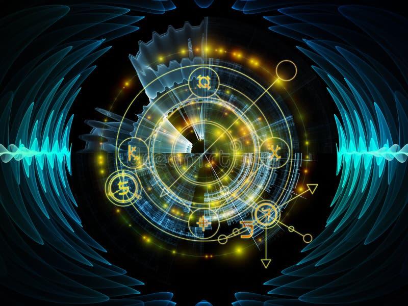 Avance del círculo místico libre illustration